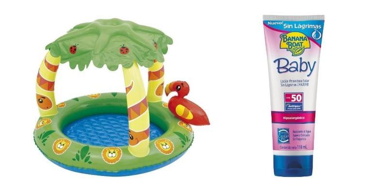 Listamos produtos que serão essenciais para o verão do seu pequeno