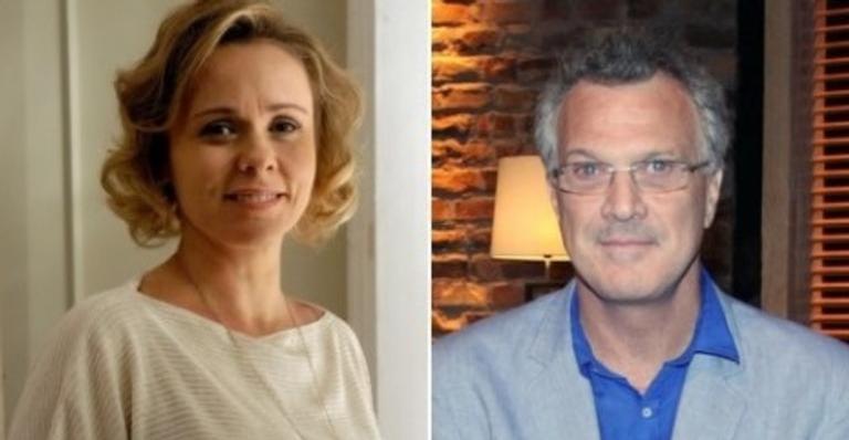 Giulia Gam e Pedro Bial tiveram um relacionamento entre 1998 e 2000