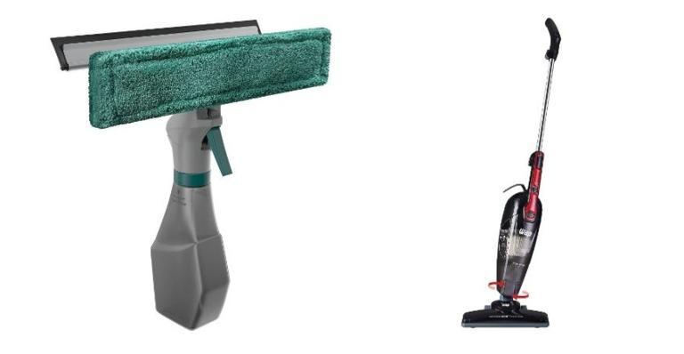 Selecionamos produtos que vão te ajudar na limpeza da casa