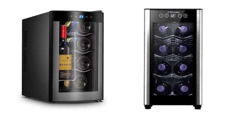 Selecionamos opções de adegas climatizadas para os amantes de vinho
