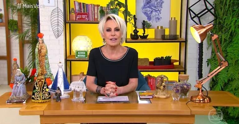 A apresentadora comentou o caso na manhã desta terça-feira (2)