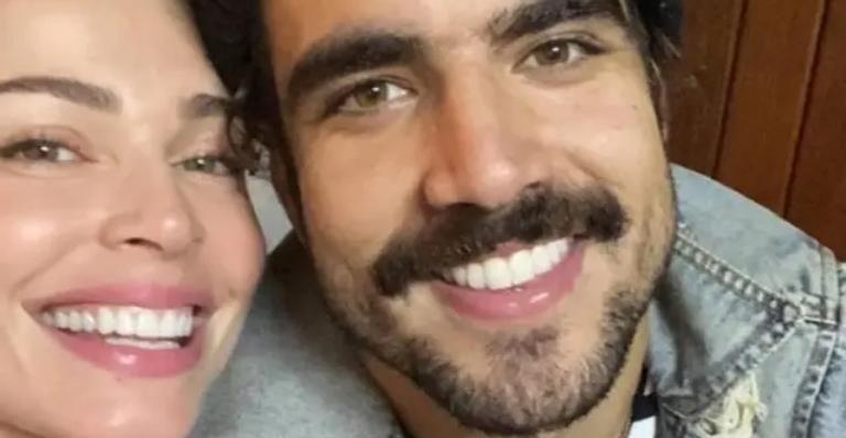 O ator está em um relacionamento sério com Grazi Massafera