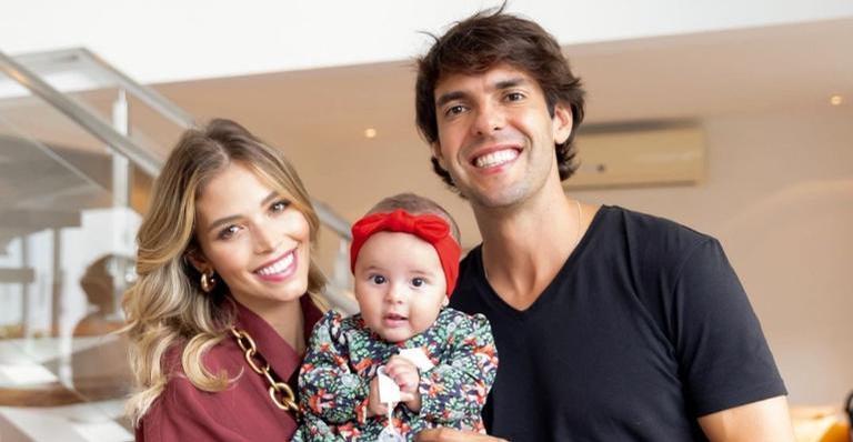 Esther, de 5 meses, é a primeira filha da influenciadora com Kaká