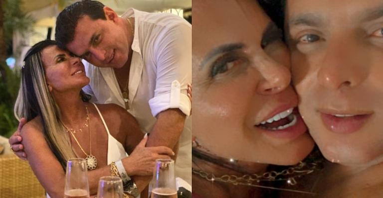 A musa é casada com Esdras de Souza, desde o ano passado