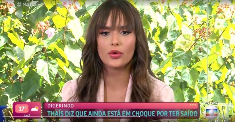A modelo e dentista foi 10ª eliminada do 'Big Brother Brasil 21'