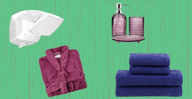 Selecionamos produtos que não podem faltar no seu banheiro