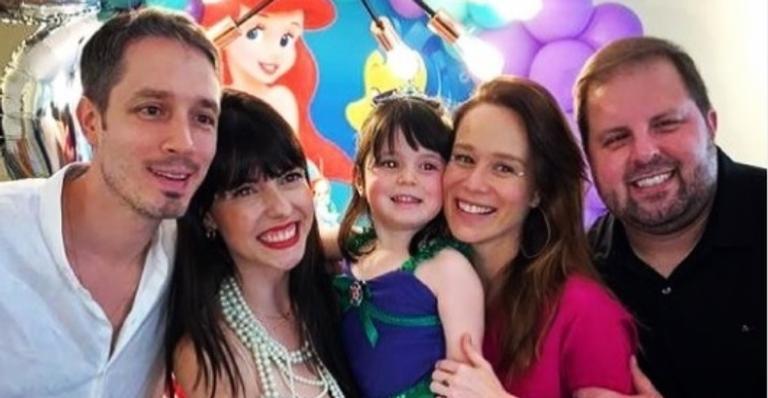 Dani era padrinho dasobrinha de Marianae ganhou uma homenagem da atriz