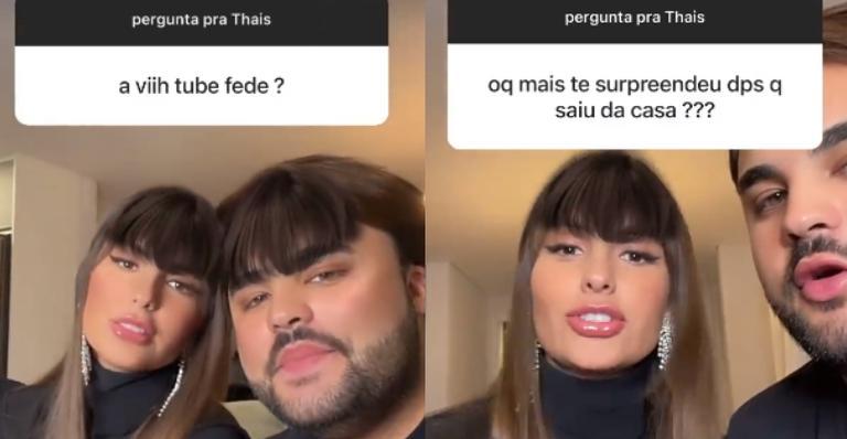Ex-sister respondeu perguntas de fãs através do Instagram