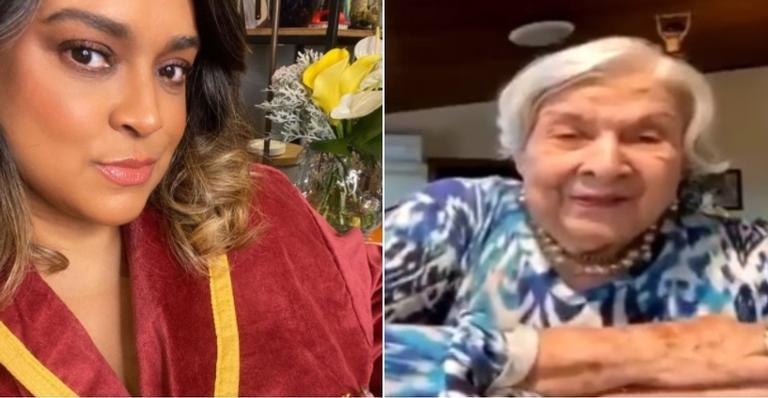 Artista lamentou a perda Dona Wangry, que tinha 96 anos