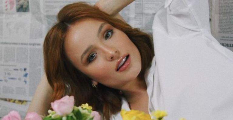 A atriz deixou seus fãs babando e ultrapassou 800 mil curtidas em seus cliques