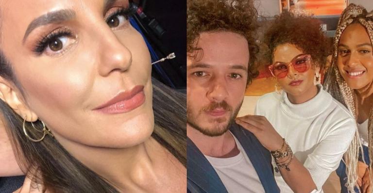 A cantora anunciou que o novo trabalho contará com a parceria do grupo 'As Baías'