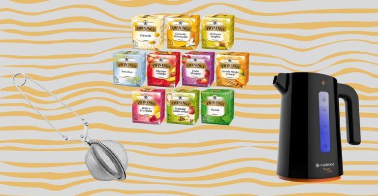 Selecionamos produtos que todo amante de chá vai querer ter em casa
