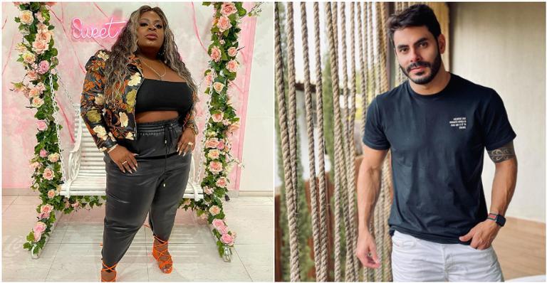 A cantora não se intimidou e mandou um recado para o sertanejo na estreia do 'Jojo Nove e Meia', do Multishow