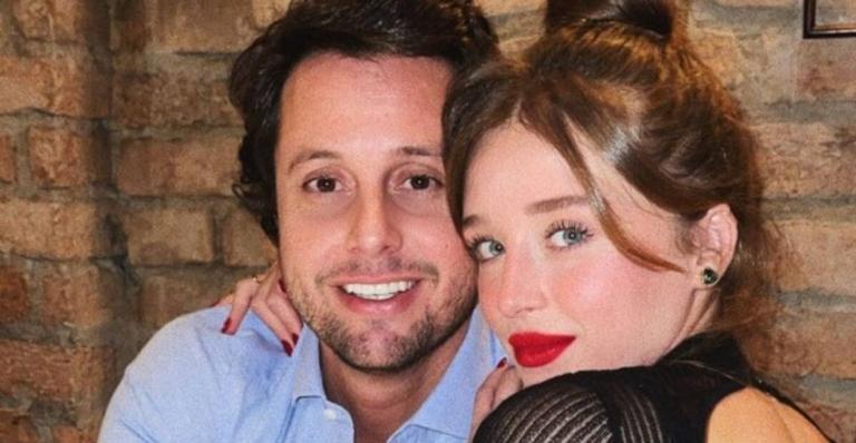 Atriz assumiu seu relacionamento com Bruno Rudge no último Dia dos Namorados