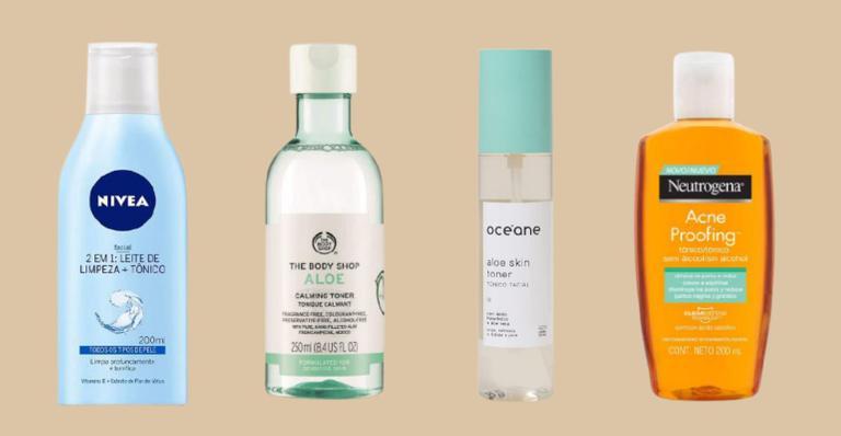 Listamos tônicos que serão ótimas opções para cuidar da pele