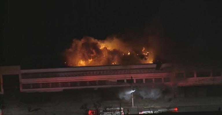 Bombeiros informaram que não houve vítimas