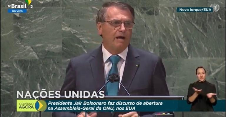 Em discurso de 12 minutos na Assembleia-Geral, ele ainda chamou imprensa de mentirosa