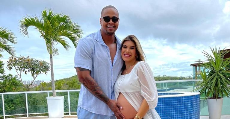 Herdeira do casal nasceu em Salvador (BA), neste domingo (26)