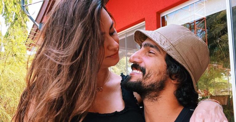 Atriz está esperando o primeiro filho do casal, Francisco